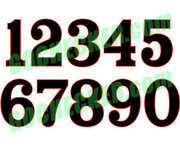 Special Boss 302 Font, choose one or two digits