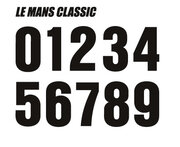 Le Mans Classic font, captures the spirit of the legendary La Sarthe